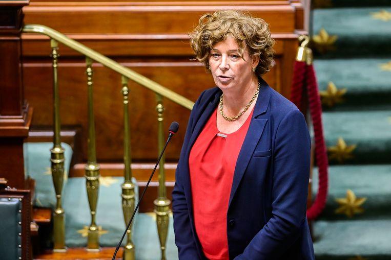 Federaal vicepremier Petra De Sutter (Groen). Beeld BELGA