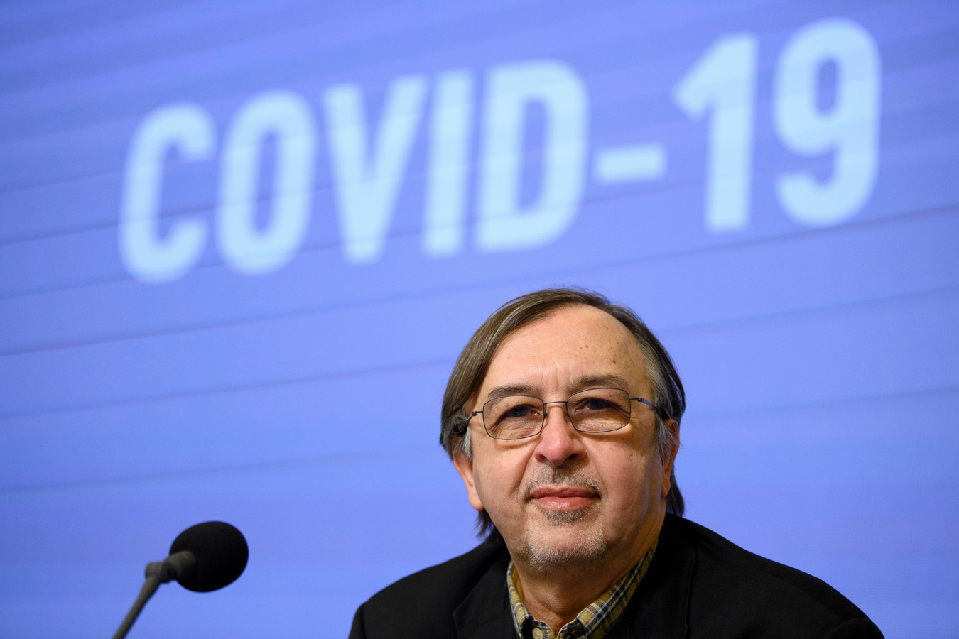 L'infectiologue Yves Van Laethem.