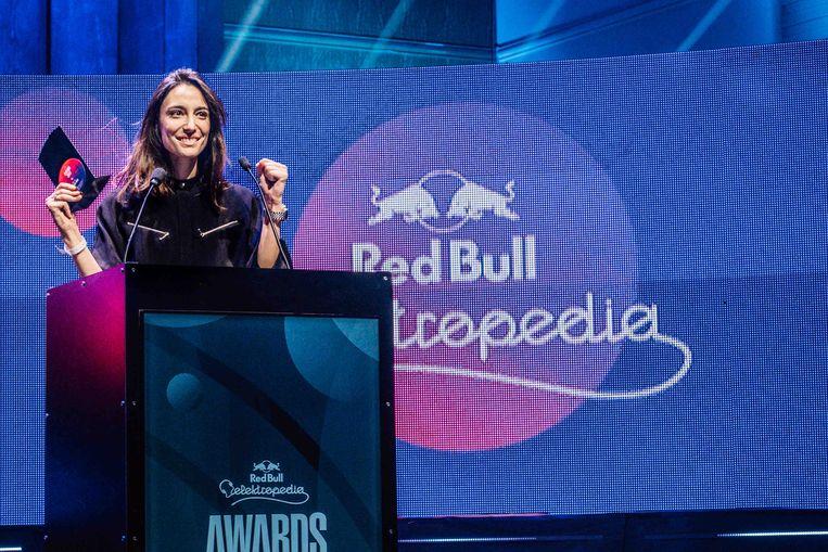 Amelie Lens werd afgelopen maand tot beste Belgische dj gekroond op de Red Bull Elektropedia Awards - voor 2ManyDJs en Faisal. Beeld rv / Jan Opdekamp