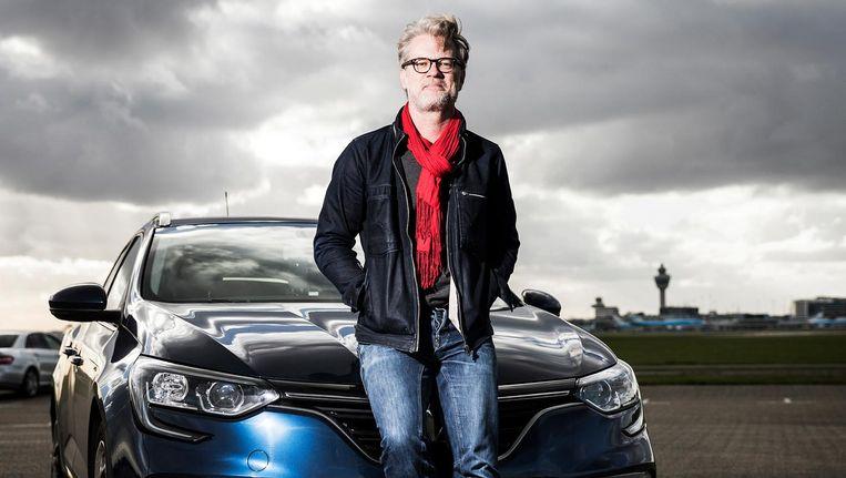 Jeroen van Bergeijk liet zich omscholen tot taxichauffeur en reed vijf maanden voor het omstreden bedrijf. Beeld null