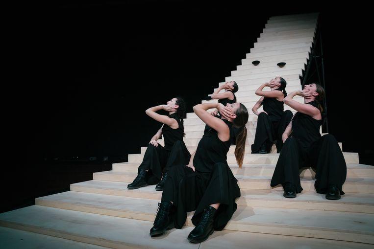 Scala van choreograaf Krisztina de Châtel.  Beeld Sjoerd Derine