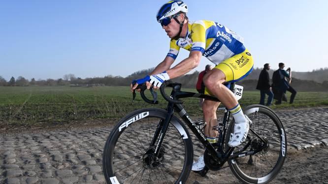 """Pech houdt Thimo Willems van mooie ereplaats in Ronde van Vlaanderen: """"Tegenslagen blijven niet duren"""""""