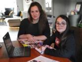 Een middelbare school kiezen van een beeldscherm: het gevoel van de school is lastig over te brengen