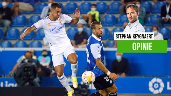 """Onze chef voetbal zag een fitte, scherpe, goéde Eden Hazard, maar hij wil dat liever doodzwijgen: """"Don't jinx it"""""""