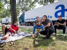 Voorlopig geen toilet en stromend water voor truckers in Helmond