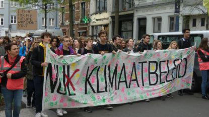 Honderdtal actievoerders op Antwerpse klimaatmars