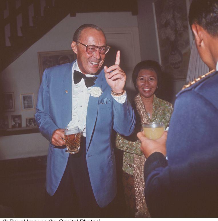 Prins Bernhard in 2001.  Beeld Hollandse Hoogte