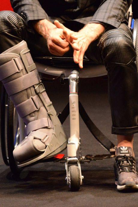 Les travaux à la Ville-Haute à Charleroi, l'enfer pour les chaises roulantes