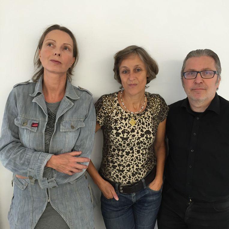 Harma Heikens, Marie-Jeanne Ameln en Ron Ritzerfeld (v.l.n.r). Beeld .