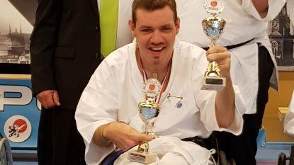 Drie medailles voor G-karateka Filip Billen
