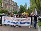Honderden mensen demonstreren in Den Bosch tegen kabinet