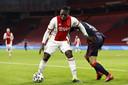 Lassina Traoré haalde het einde van de wedstrijd niet. Hij moest vlak voor rust naar de kant met, zo leek het, een liesblessure.