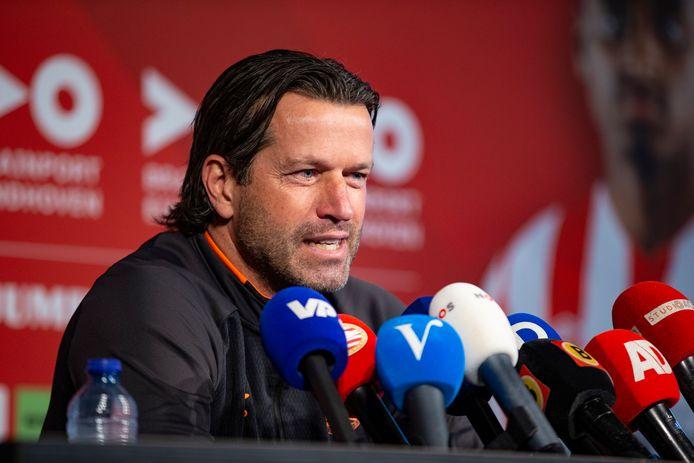 Ernest Faber was vorig jaar nog hoofdcoach van PSV, net zoals hij dat in 2014 was.