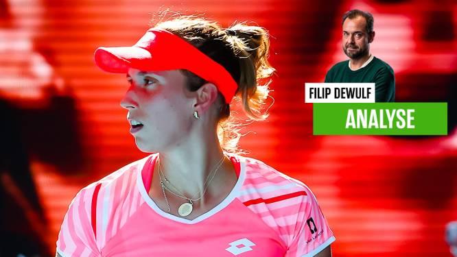 """Moet Mertens zich ook volledig focussen op het enkelspel? Onze tennisexpert: """"Elise, volg het voorbeeld van Aryna en Kim"""""""
