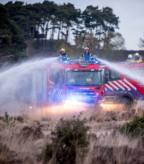 Nunspeet en Elburg maken zich zorgen: brandweer mag later bij natuurbrand komen