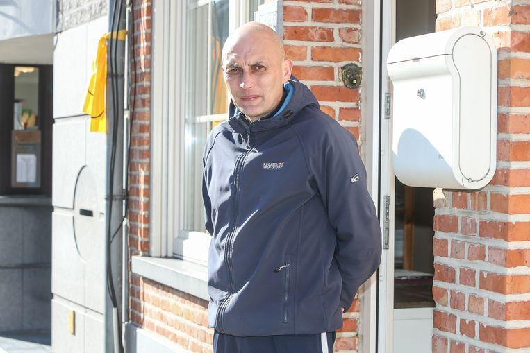 Francis De Donder, schepen van Sport in Zele. Beeld Photo News