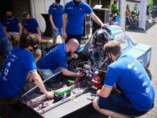 HAN-studenten houden testdag met hun superzuinige waterstofauto: 'We geloven heilig in onze auto'