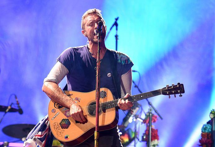 Chris Martin van Coldplay.