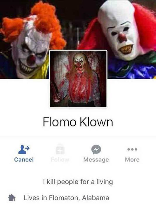 Facebookpagina van Flomo Klown