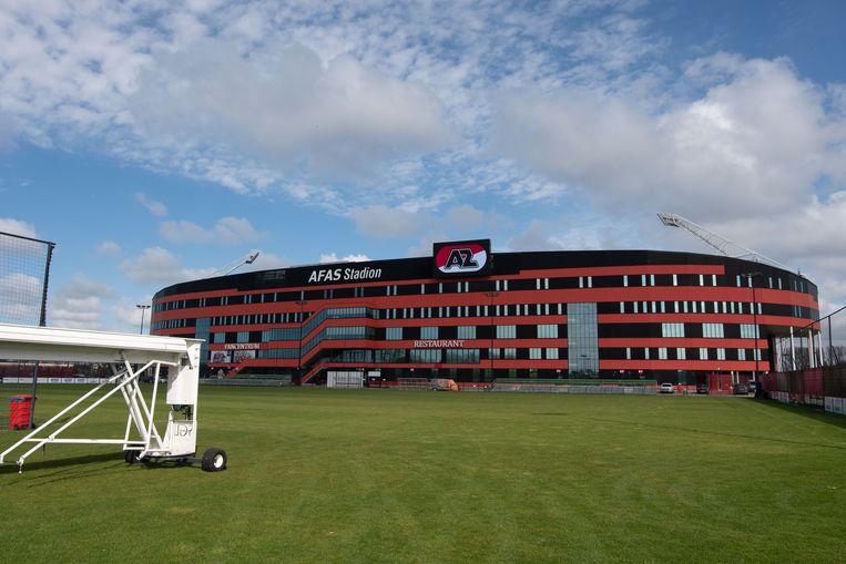 Het stadion van AZ in Alkmaar. Beeld BSR Agency