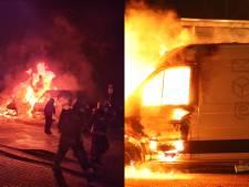 Wéér brandde in Gouda een bezorgbus af van Ruud Post: 'Risico op schade oké, maar dit is onacceptabel'