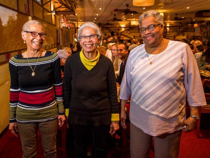 De ABC-drieling: Anita, Bertha en Carla (v.l.n.r).