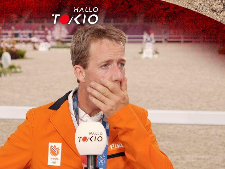 Springruiter Van der Vleuten emotioneel na winnen brons