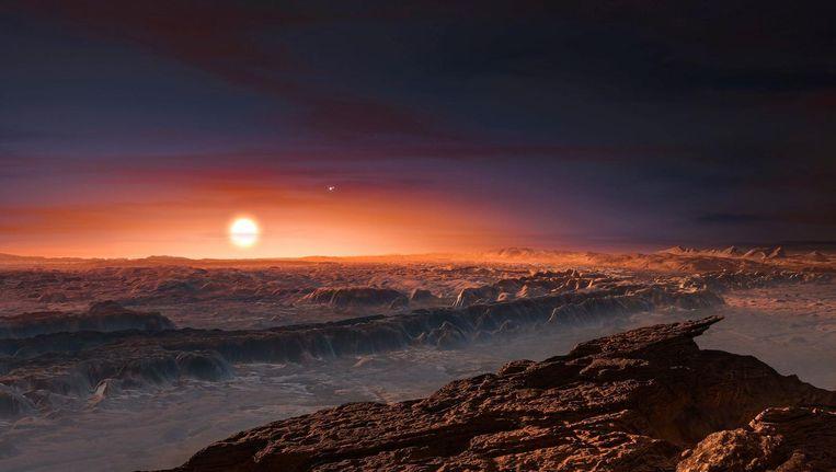 De nieuwe planeet heeft waarschijnlijk geen seizoenen. Beeld afp