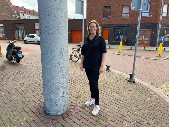 Jongerenwerker Alisa Helwig: Scheveningen is en blijft een hechte gemeenschap waar de jeugd ook later wil blijven wonen.