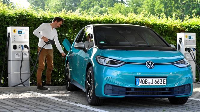 Volkswagen verkoopt fors meer elektrische auto's