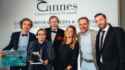 #VANRSL wint zilver in Cannes