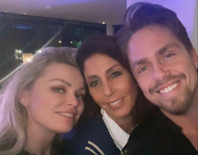 Bridget, Rachel en André.