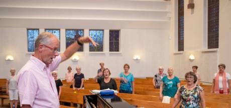 Voorlopig geen orkest maar zingen met een orgel voor het koor van COV Bennekom