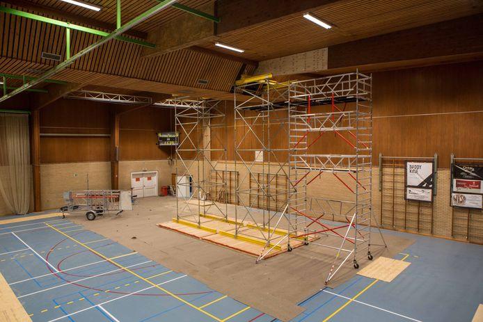 Vorig jaar nog gebeurden er dringende herstellingen aan het Wildersportcomplex.