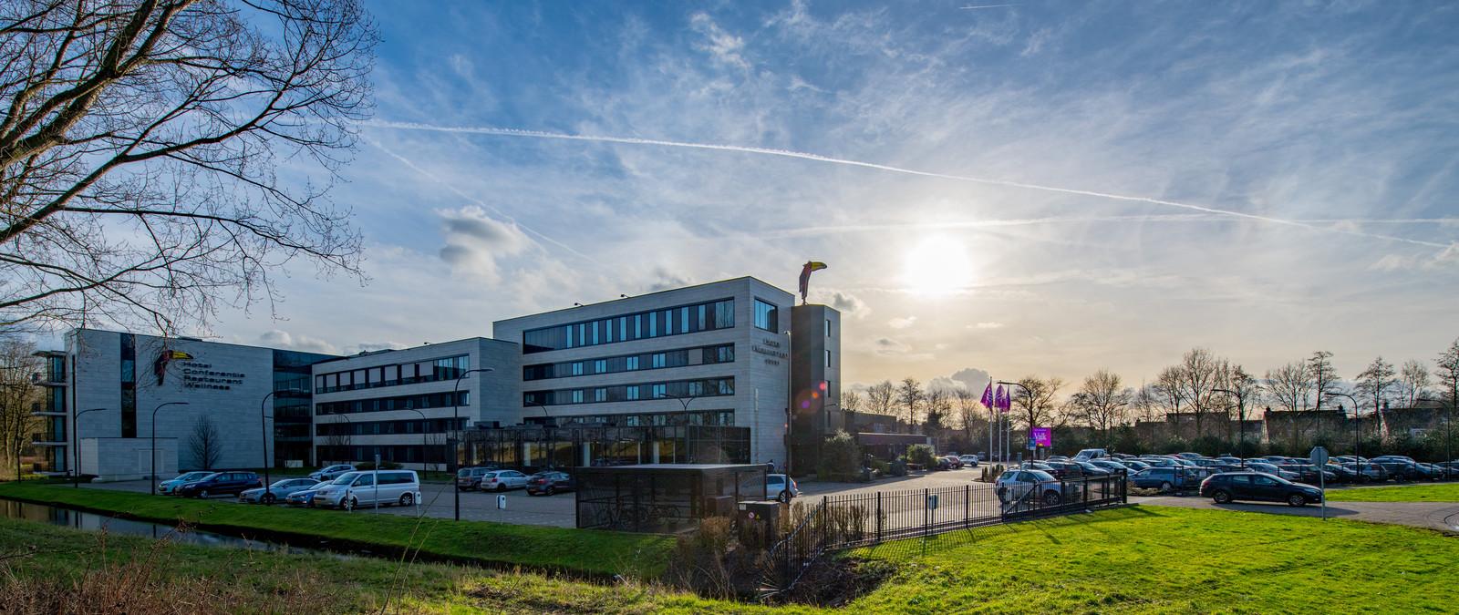 Het Van der Valk Hotel in Nieuwerkerk.