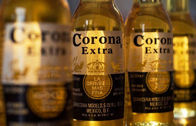 Corona-bier. Beeld EPA