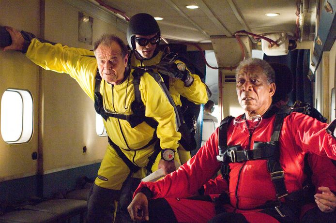 Jack Nicholson en Morgan Freeman