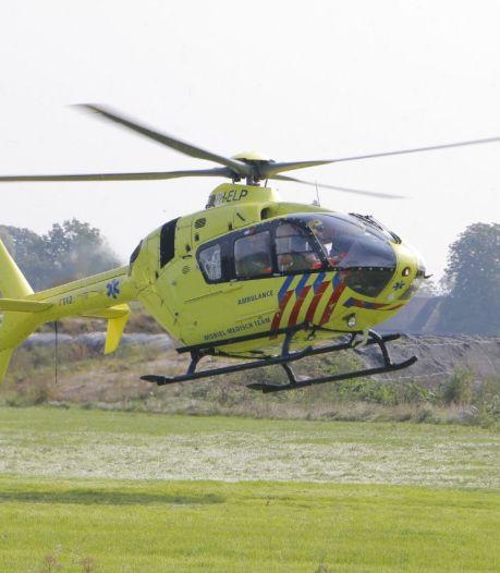 Traumahelikopter opgeroepen na ongeluk met tractor in Gelselaar