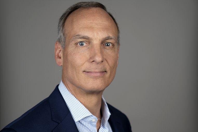 Glenn Fogel, de bestuursvoorzitter van Booking Holding. Beeld Bloomberg via Getty Images