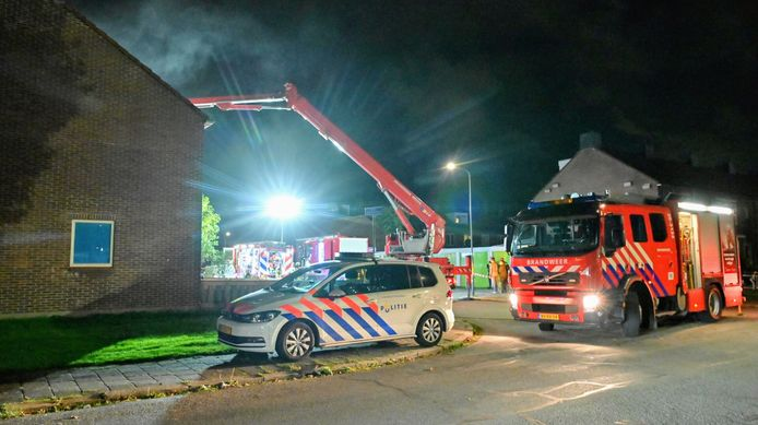 Woningbrand in Breda.