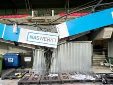 Deze container redde supporters van Vitesse: 'Een ramp is voorkomen en daar zijn we erg blij mee'