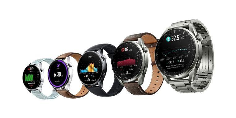 De Huawei Watch 3 Beeld Huawei