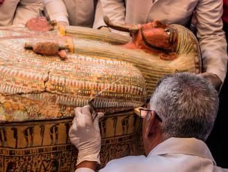 Dertig kisten met 3.000 jaar oude mummies ontdekt in Egypte