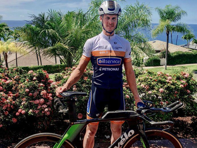 Hannes Bonami komt zaterdag aan de start van de Triatlon van Vlaanderen. Pech, corona en het vaderschap hielden hem bijna twee jaar weg van noemenswaardige triatlonwedstrijden