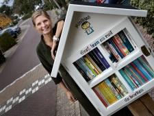 Boekenhuisjes bieden gezelligheid en leesvoer voor jong en oud
