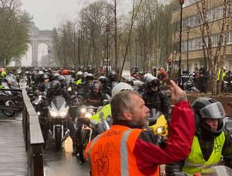 Motorrijders protesteren tegen invoering van verplichte technische keuring