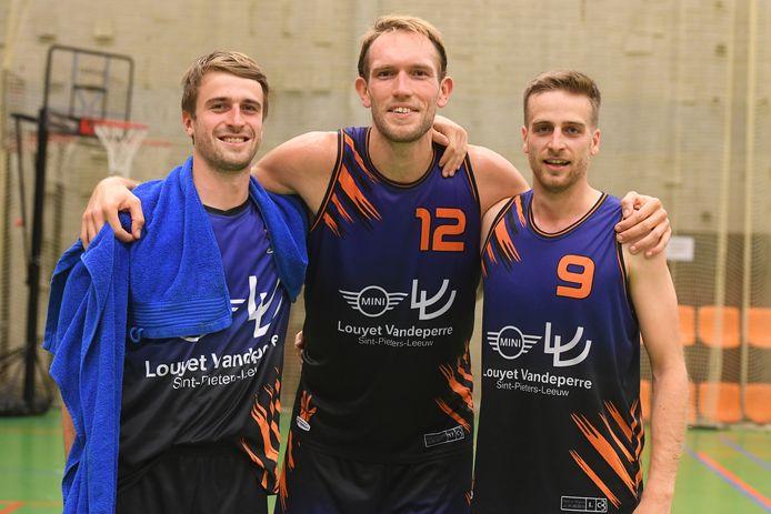Theo Dilissen, Joost Brancart en Sebastian Apers zijn allen nieuw bij de heren.