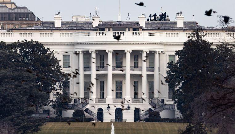 Het Amerikaanse Witte Huis.  Beeld EPA