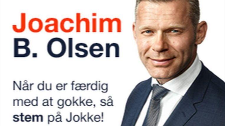 De boodschap waarmee Olsen kiezers probeert te ronselen.