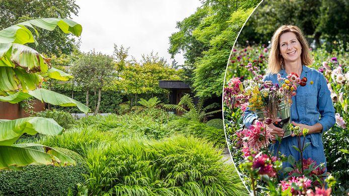 De Belgische tuinexpert Laurence Machiels.